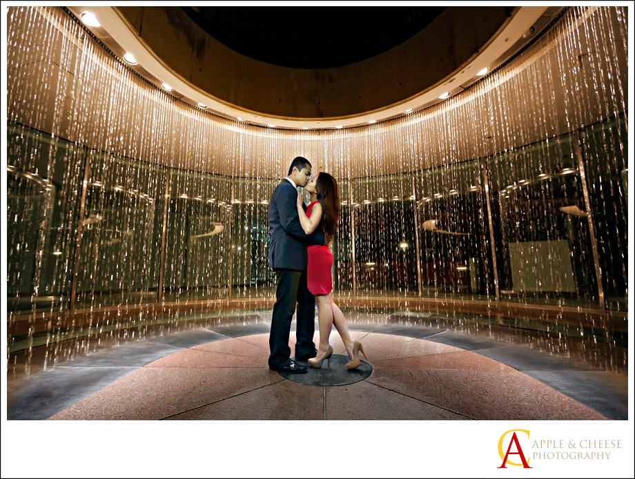 Disney Concert Hall Engagement Session of Gles and Jeff