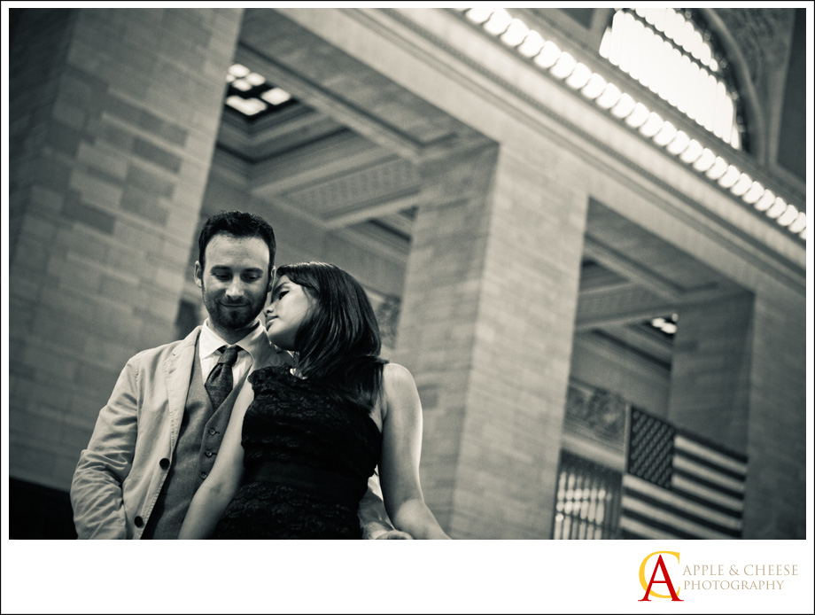 Brooklyn Engagement Session Photos Romanie and Dan