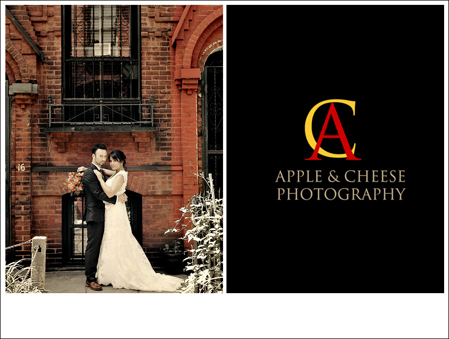 New York Wedding Photographer Romanie and Dan