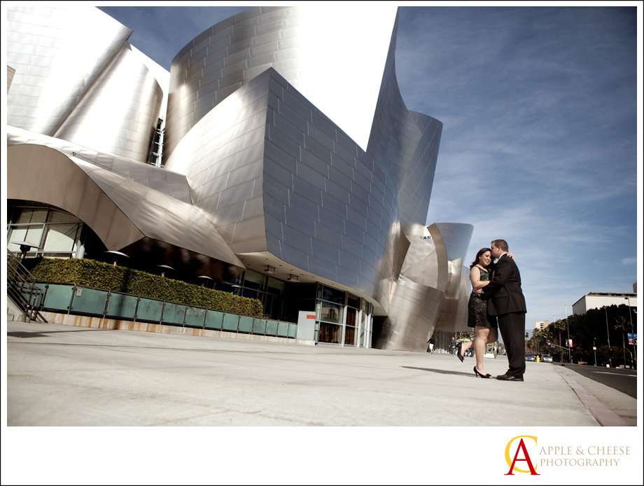 Disney Concert Hall Engagement Session Desiree Duane