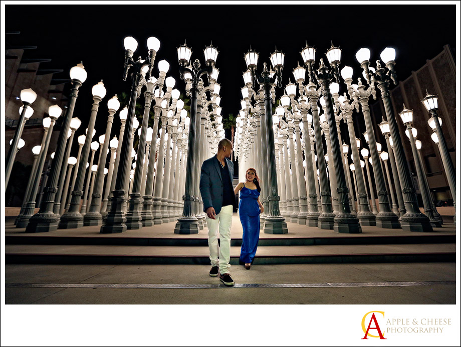 Los Angeles Union Station Engagement Session Cindy Marlon