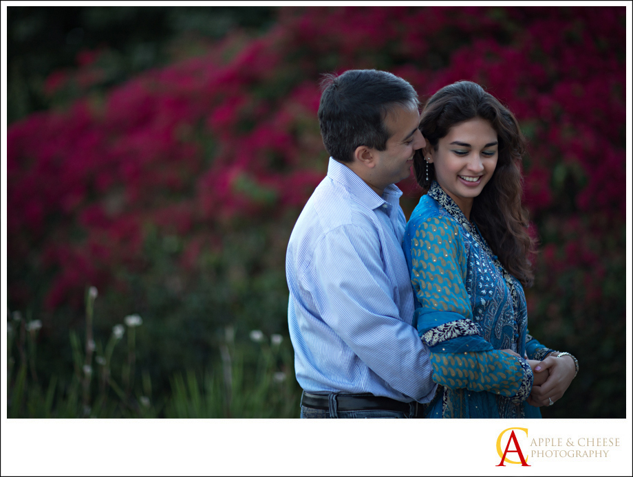 Pacific Palisades Engagement Photos of Muniba and Faisel
